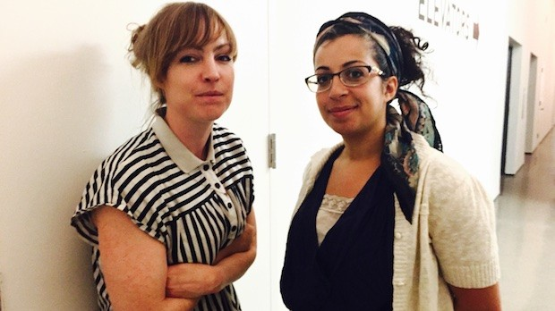 Amy Rose and May Abdalla (left to right) of Anagram