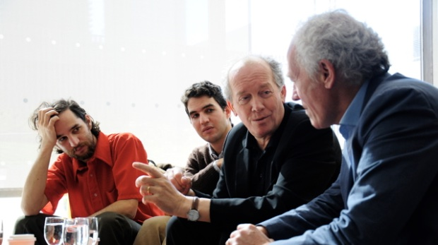 The Safdies with the Dardenne Brothers
