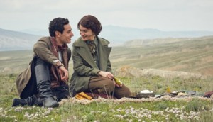 Adam Bakri and Maria Valverde in Ali and Nino