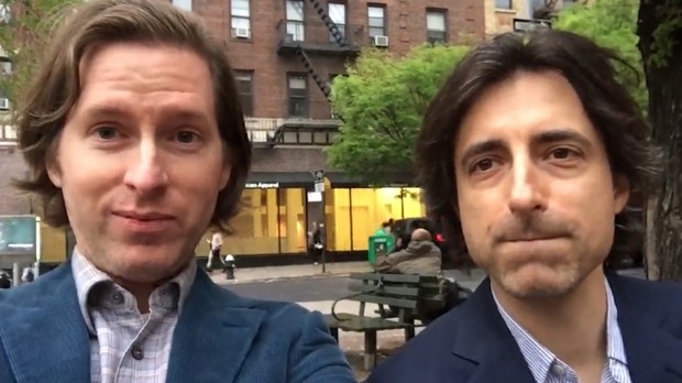 Watch: Wes Anderson and Noah Baumbach Fundraise for Orson ...  Watch: Wes Ande...