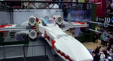 Lego X-Wing unveiling: A LEGO Brickumentary
