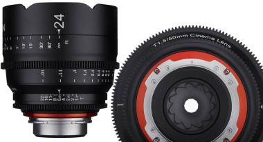 Xeen lenses have different housings and 11-blade iris