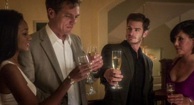 Michael Shannon, Andrew Garfield, center; courtesy Broad Green Pictures