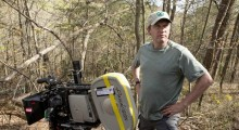 Ken Kwapis on the set of A Walk in the Woods (Photo by Frank Masi/courtesy of Broad Green Pictures)