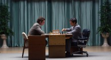 Live Schreiber and Tobey Maguire in Pawn Sacrifice