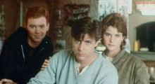 David Caruso, Emilio Estevez and Ally Sheedy in Blue City