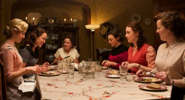 Julie Walters, center; Saoirse Ronan, second from right