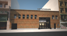 An illustration of what the completed Metrograph will look like (courtesy of Metrograph)