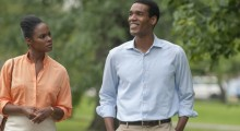 Tika Sumpter and Patrick Sawyer in Southside with You