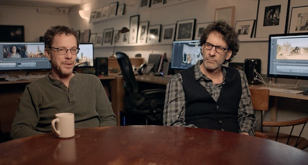 Joel and Ethan Coen Discuss How Their Editing has Evolved Over Thirty Years