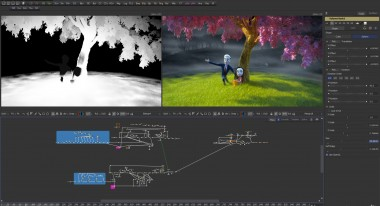 Node Compositing in Fusion | Courtesy Magnetic Dreams