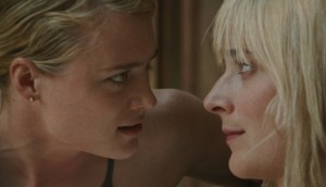 MacKenzie Davis and Caitlin Fitzgerald in Always Shine