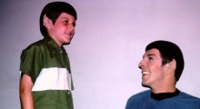 Adam and Leonard Nimoy in For the Love of Spock