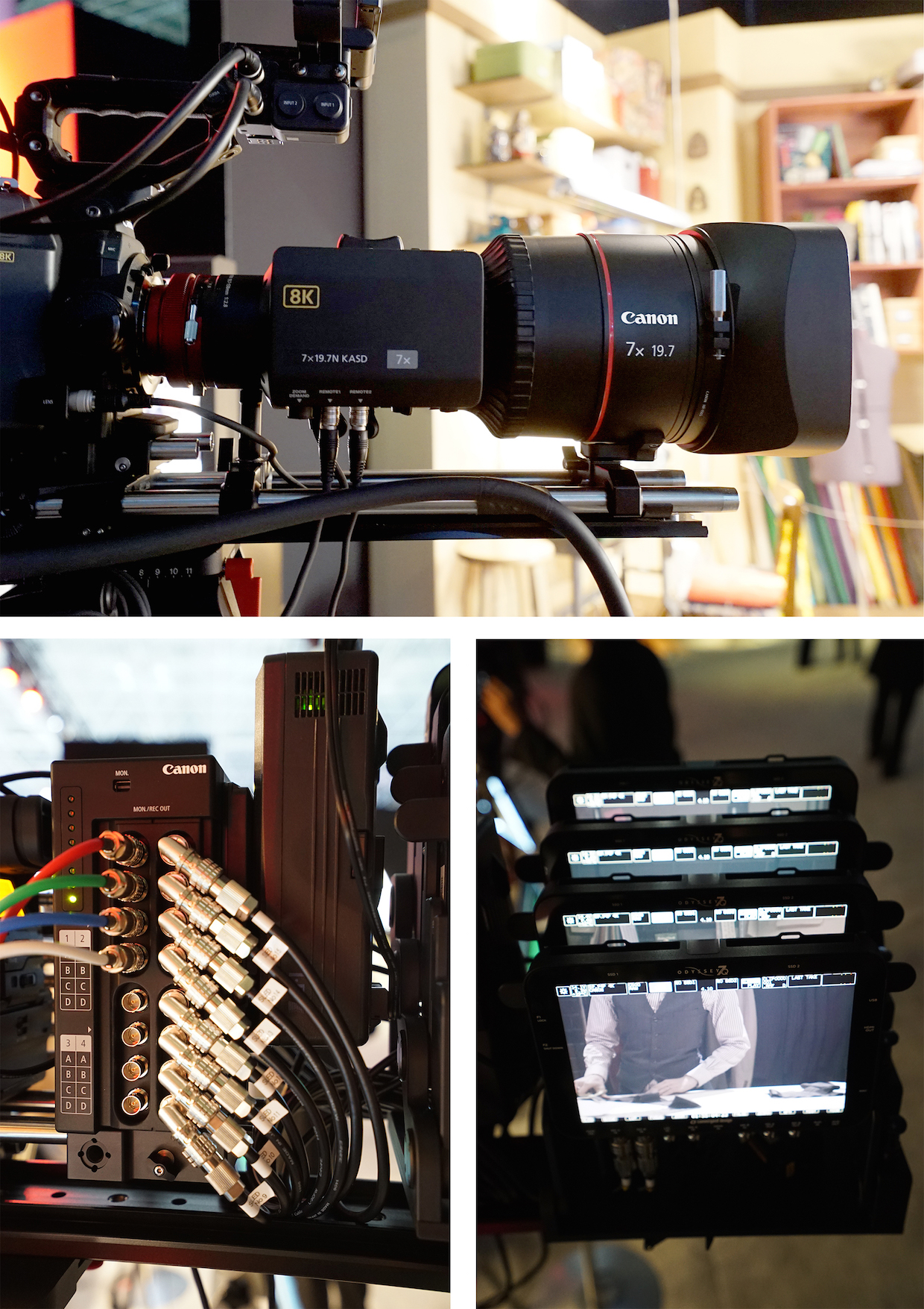 Digital Motion Picture Cameras in 2016: New Horizons