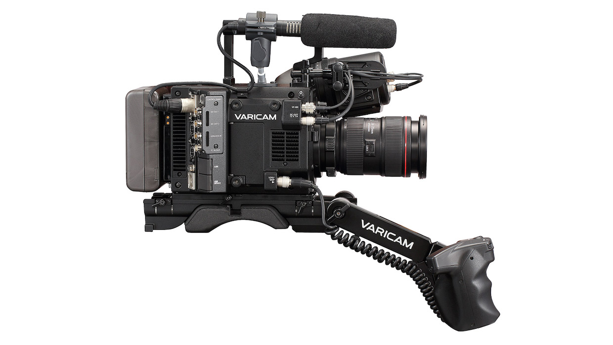 Introduced suddenly in February, Panasonic's VariCam LT borrows the sensor, codec, and signal processing from VariCam 35 but sheds weight, size, and cost. What it gains is ergonomics and desirability. EF-mount rig shown here (PL is optional), minus Canon 24-70 L-Series zoom, brick battery, and media, will set you back $27K. Don't toss that FS7 yet, if budget's tight.