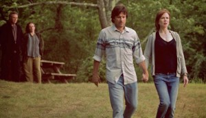 Christopher Walken, Maryann Plunkett, Jason Bateman and Nicole Kidman in The Family Fang