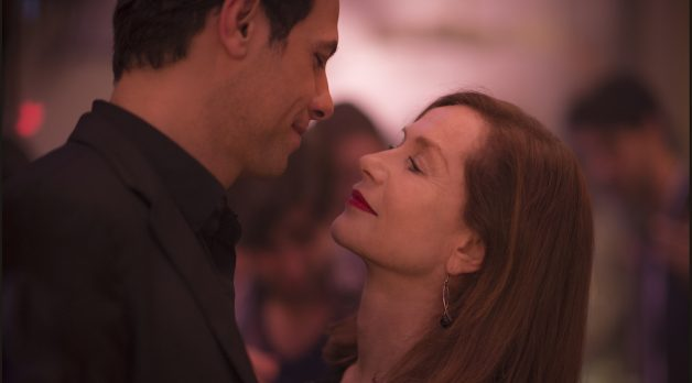 Laurent Lafitte and Isabelle Huppert in Elle (Photo by Guy Ferrandis, Courtesy of Sony Pictures Classics)