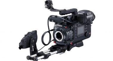 The Canon C700 with optional accessories