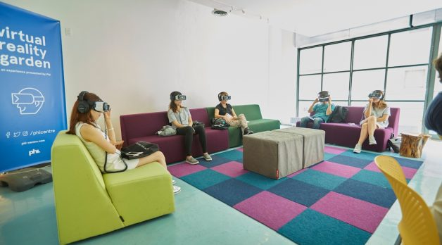 The VR Garden at IFP Film Week