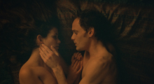 Lucie Lucas and Anton Yelchin in Porto