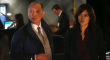James Spader and Megan Boone in The Blacklist