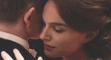Natalie Portman in Jackie (Photo courtesy of Stéphanie Branchu)