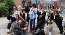 Accelerator Lab cohort attending the 2016 Sheffield Doc/Fest