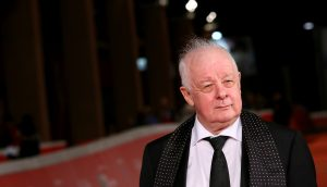 Jim Sheridan walks a red carpet for The Secret Scripture during the 11th Rome Film Festival at Auditorium Parco Della Musica.  (Photo by Ernesto Ruscio/Getty Images)