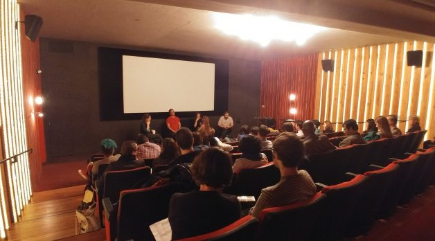 Jon Reiss (at right) at this week's IFP Filmmaker Labs.