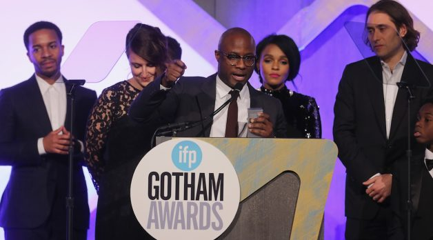 Barry Jenkins and the Moonlight team. (Photo by Jemal Countess/Getty Images for IFP)