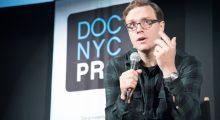 Editor Matthew Hamachek at DOC NYC. (Photo: Carlos Stanfer)