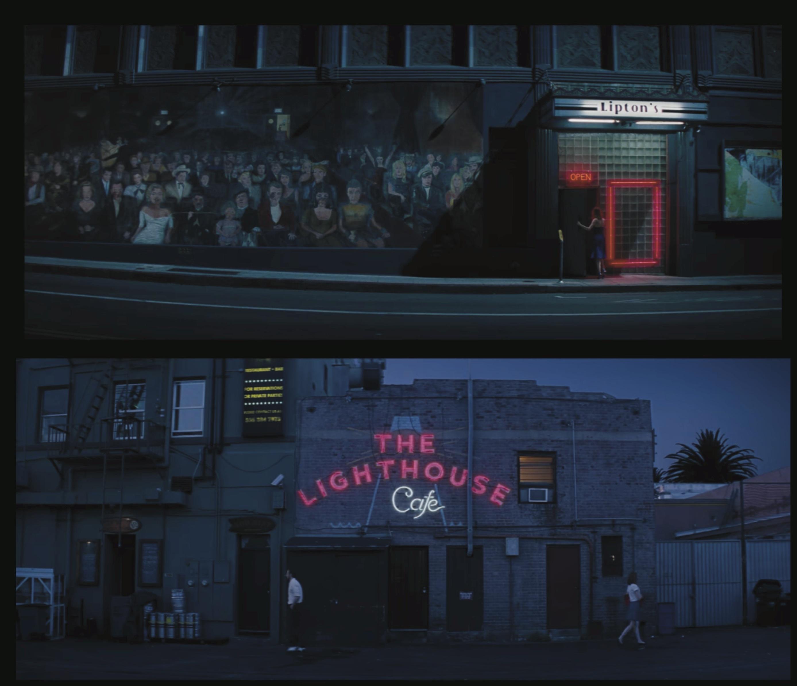 La La Land Cafe Scene