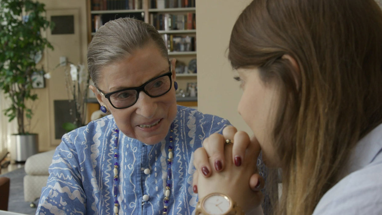 Ruth Bader Ginsburg recounts her own moment of sexual harassment
