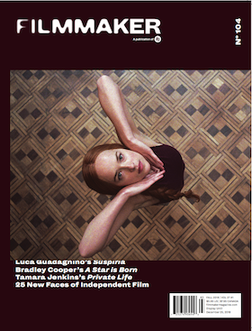 Filmmaker Magazine - Fall 2018 Cover